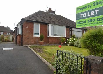 Thumbnail 1 bed semi-detached bungalow to rent in Brantwood Avenue, Redcap, Blackburn