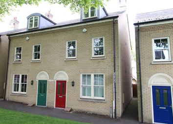 Thumbnail 3 bed town house for sale in Queens Road, Bury St. Edmunds