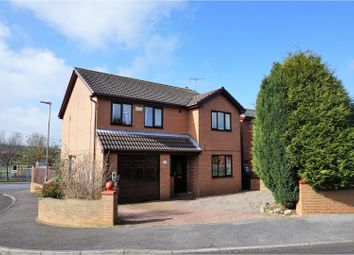 Thumbnail 4 bed detached house for sale in Brockwell Court, Bishop Auckland
