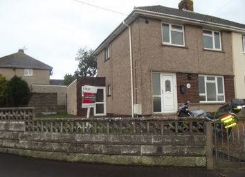 Thumbnail 3 bed semi-detached house to rent in Heol Sant Bridget.., St Brides Major