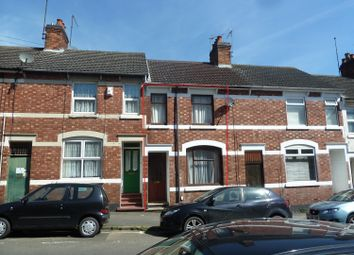 Thumbnail 3 bedroom terraced house to rent in Russell Street, Kettering