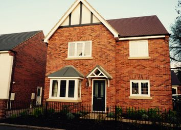 Thumbnail 4 bed detached house for sale in The Birchover At Brindley Park, Off Woodgate Drive, Chellaston, Derby