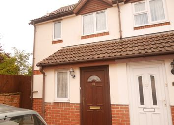 Thumbnail 2 bed semi-detached house to rent in Loxleigh Gardens, Bridgwater, Somerset