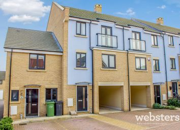 Thumbnail 4 bed town house for sale in Ron Hill Road, Costessey, Norwich
