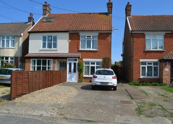 Thumbnail 2 bed semi-detached house for sale in Old Kirton Road, Trimley St. Martin, Felixstowe
