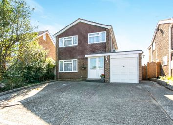 Thumbnail 3 bed detached house for sale in Barns Road, Ferndown