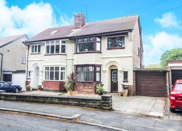 Thumbnail 3 bed semi-detached house for sale in Kirket Lane, Bebington, Wirral