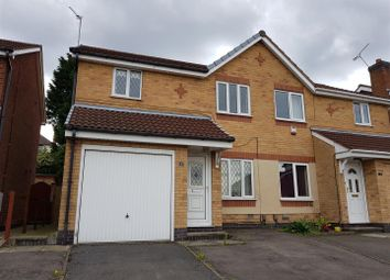 Thumbnail 3 bedroom semi-detached house for sale in The Shires, Forest Town, Mansfield