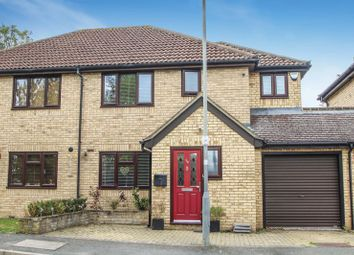 Thumbnail 3 bed semi-detached house for sale in Badger Way, Hazlemere, High Wycombe