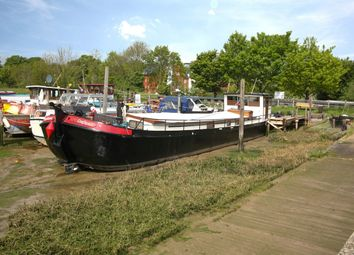 Thumbnail 1 bed houseboat for sale in New Quay Lane, Woodbridge