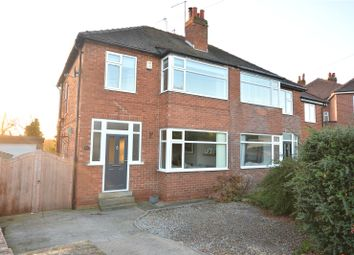 Thumbnail 3 bed semi-detached house for sale in Alandale Crescent, Garforth, Leeds, West Yorkshire