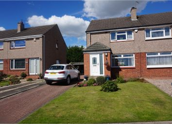 Thumbnail 3 bed semi-detached house for sale in Dalcraig Crescent, Glasgow