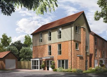 Thumbnail 5 bed link-detached house for sale in Portsdown Hill Road, Bedhampton, Hampshire