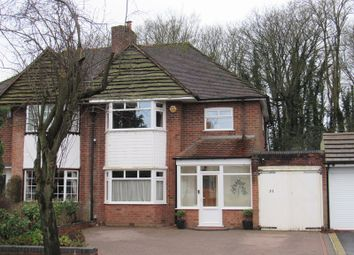 Thumbnail 3 bed semi-detached house for sale in Highwood Avenue, Solihull