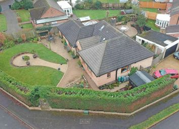 Thumbnail 5 bed detached bungalow for sale in The Mount, Scraptoft, Leicester LE7, Leicester,