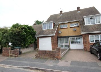 Thumbnail 3 bedroom semi-detached house to rent in Hollybush Road, Gravesend, Kent