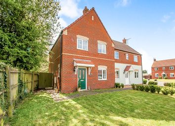 Thumbnail 3 bed semi-detached house for sale in Kiln Drive, Tydd St. Mary, Wisbech