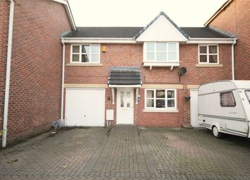 Thumbnail 2 bed town house for sale in Church Green Gardens, Golborne, Warrington