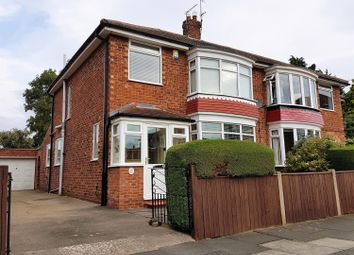 Thumbnail 3 bed semi-detached house for sale in Banbury Grove, Acklam, Middlesbrough