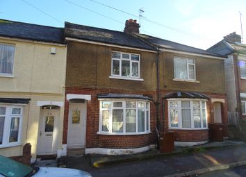 Thumbnail 3 bedroom terraced house to rent in Rochester Street, Chatham, Kent.