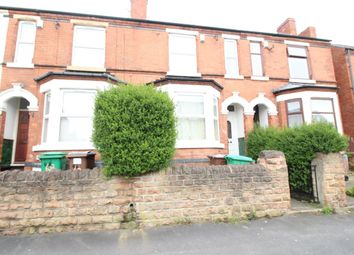 Thumbnail 4 bed terraced house to rent in Leslie Road, Nottingham