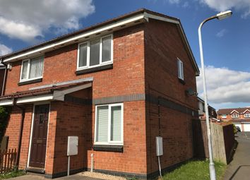 Thumbnail 2 bed semi-detached house to rent in Bradbury Lane, Cannock