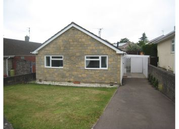 Thumbnail 2 bed detached bungalow to rent in Normandy Way, Chepstow