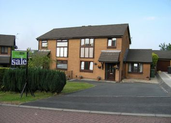 Thumbnail 4 bed semi-detached house for sale in Saxon Close, Oswaldtwistle, Accrington