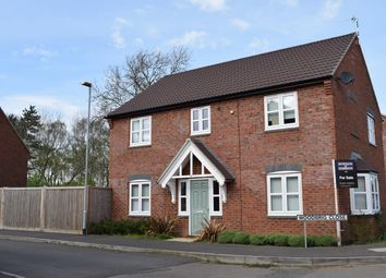 Thumbnail 4 bed detached house for sale in Woodbrig Close, Lutterworth