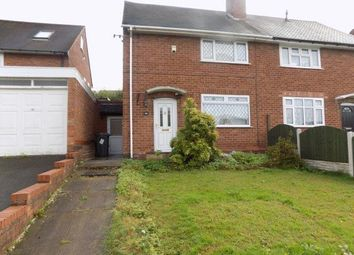 Thumbnail 2 Bed Semi Detached House For Sale In Caddick Road Great Barr