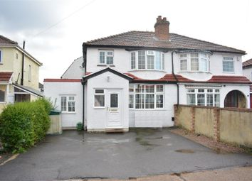 Thumbnail 4 bed semi-detached house for sale in Kingsmead Close, West Ewell, Epsom