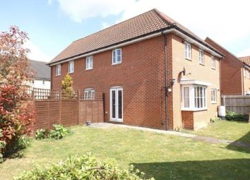 Thumbnail 3 bed semi-detached house for sale in Wymondham, Norfolk