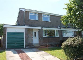 Thumbnail 3 bed semi-detached house for sale in Castle Road, Prudhoe