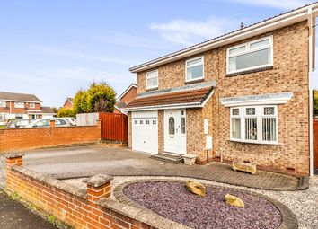Thumbnail 4 bed detached house for sale in Home Park, Wallsend