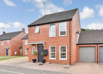 Thumbnail 4 bed detached house for sale in Birch Covert, Thetford, Norfolk