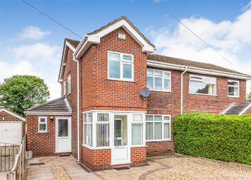 Thumbnail 3 bedroom semi-detached house for sale in Moorland Close, Werrington, Stoke-On-Trent