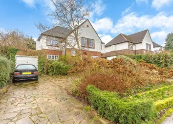 Thumbnail 4 bed detached house for sale in Burgh Wood, Nork, Banstead