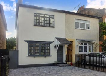 Thumbnail 4 bed semi-detached house for sale in Derby Road, London