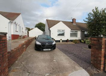 Thumbnail 2 bed semi-detached bungalow for sale in Wesley Avenue, Rhoose, Barry
