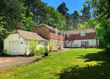 4 bed detached house for sale in Latchwood Lane, Lower Bourne, Farnham, Surrey GU10