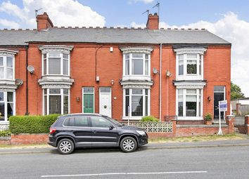 Thumbnail 3 bed terraced house for sale in Durham Road, Bishop Auckland