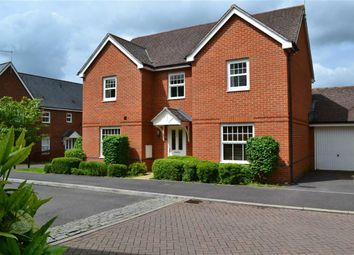 Thumbnail 4 bed detached house for sale in Rowlock Gardens, Hermitage, Berkshire