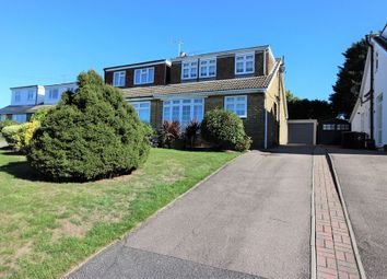 Thumbnail 3 bed semi-detached house for sale in Highland Road, Nazeing, Essex.
