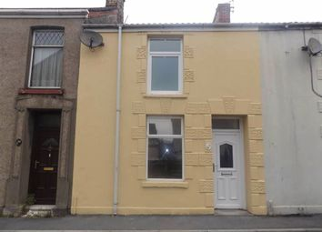Thumbnail 2 bed terraced house to rent in Maescanner Road, Llanelli, Carmarthenshire