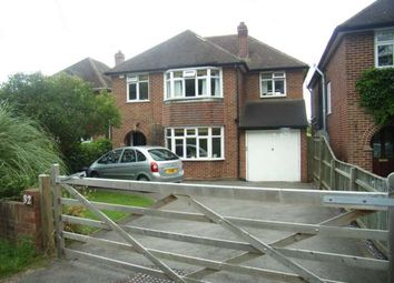 Thumbnail 4 bed detached house to rent in Silverdale Road, Earley, Reading