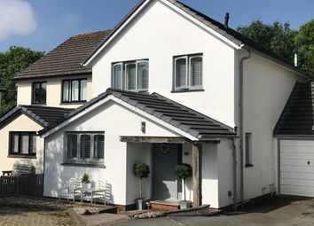 Thumbnail 4 bedroom link-detached house for sale in Palmers Close, Braunton, Devon