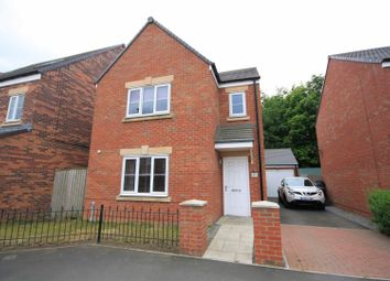 Thumbnail 3 bed detached house for sale in Sandringham Way, Newfield, Chester Le Street