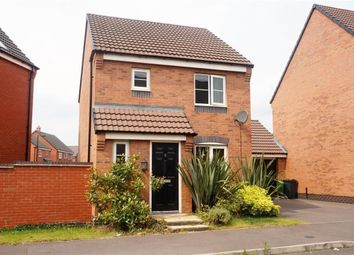 Thumbnail 3 bed detached house to rent in Long Swath Way, Birstall, Leicester