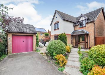 Thumbnail 4 bed detached house for sale in Stablegate Way, Market Harborough
