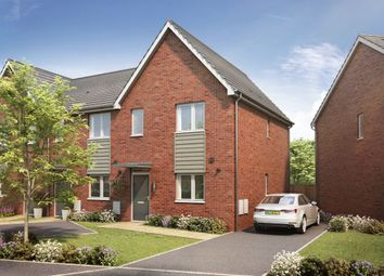 Thumbnail 3 bedroom terraced house for sale in Meon Vale, Marketing Suite, Campden Road, Long Marston, Stratford